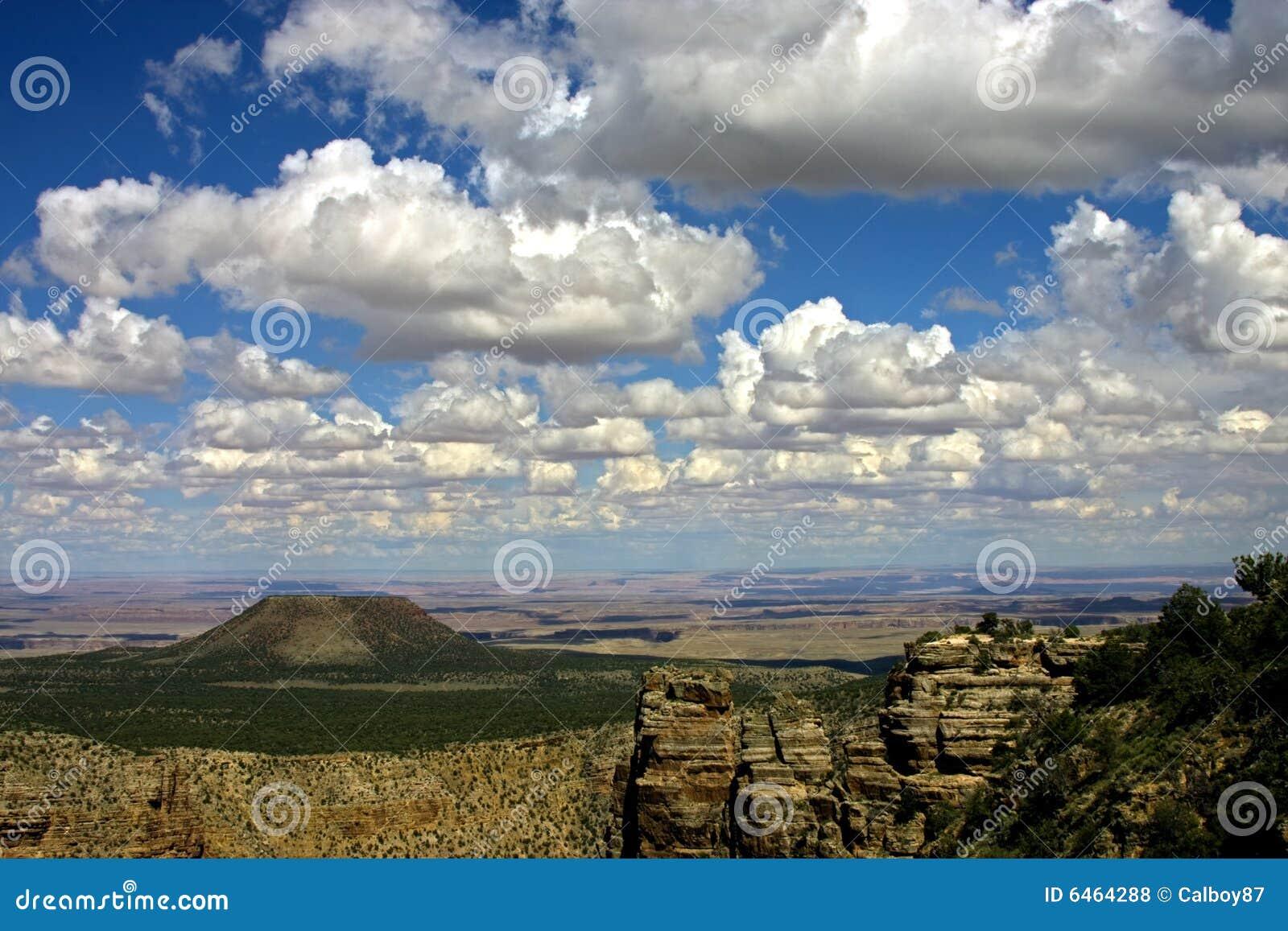 Grand canyon obręcz na południe
