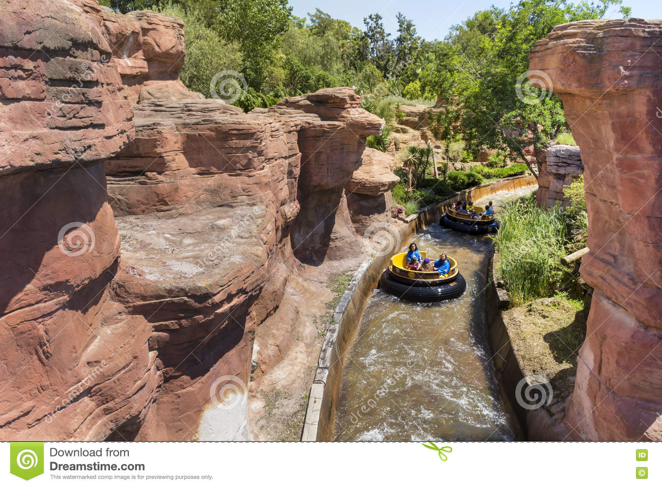 TR Portaventura du 17 au 20 juin 2018 en suites woody au Portaventura Hotel Grand-canyon-rapids-far-west-area-portaventura-park-spain-replica-wild-colorado-river-77041552