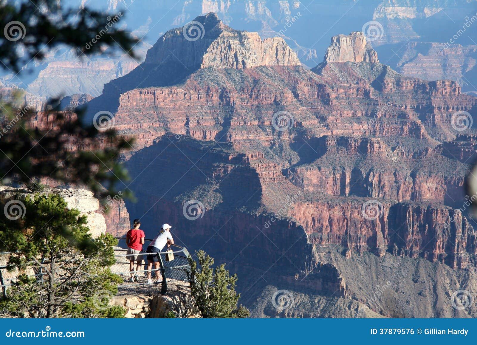 Grand Canyon -Toeristen
