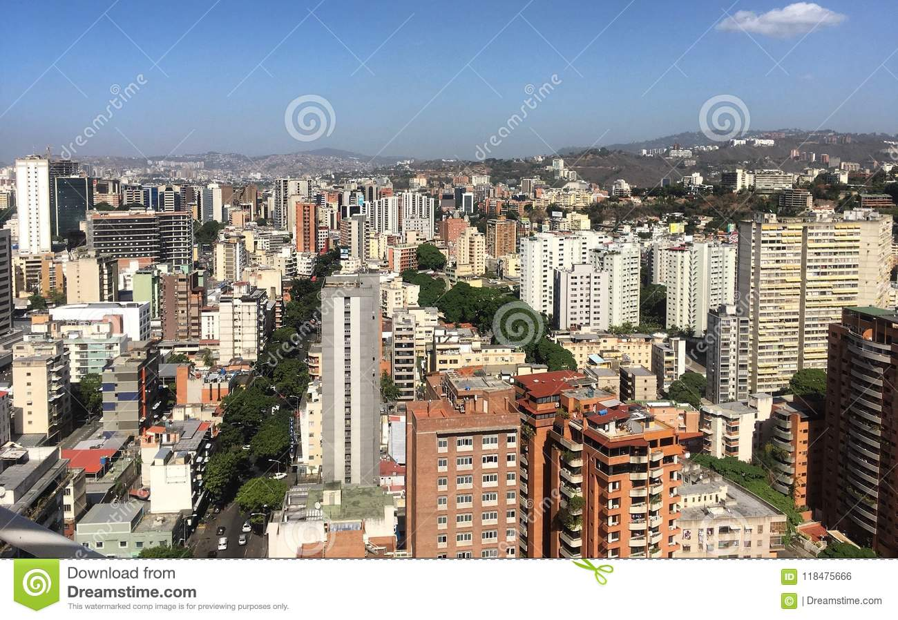 Grand Caracas Venezuela district des affaires de Sabana