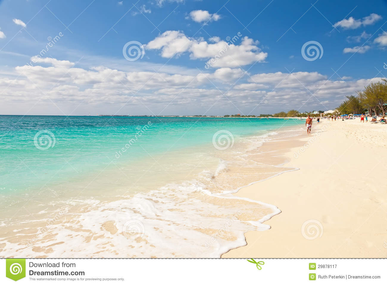 royalty free stock photography grand cayman islands mar tourists enjoying beauty seven mile beach attracts most visitors inhabited part island image