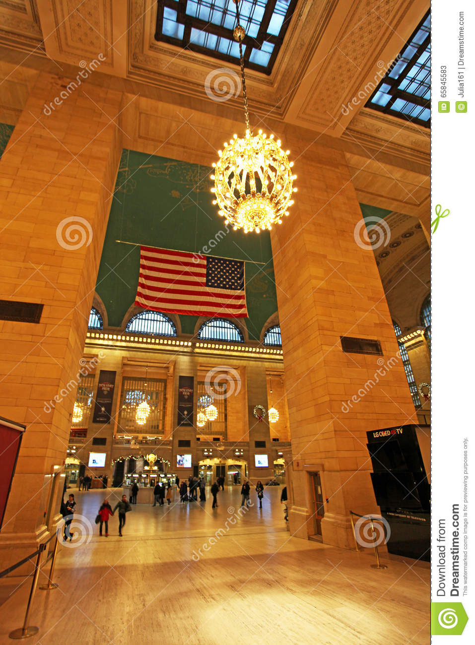 Grand central railway station interior new york usa for Interior news