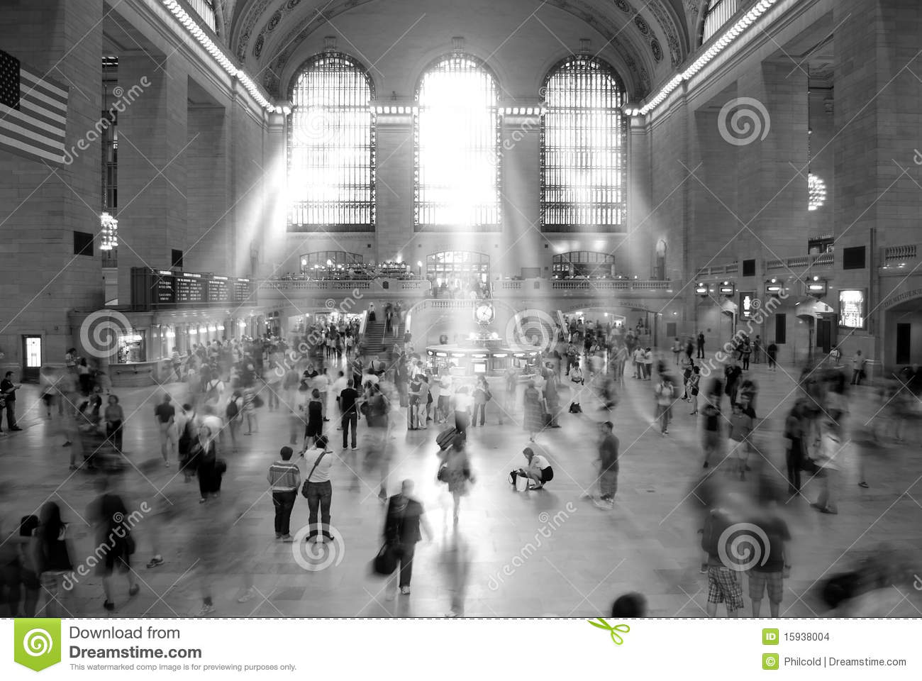 Grand central station new york editorial stock image for Grand tableau new york