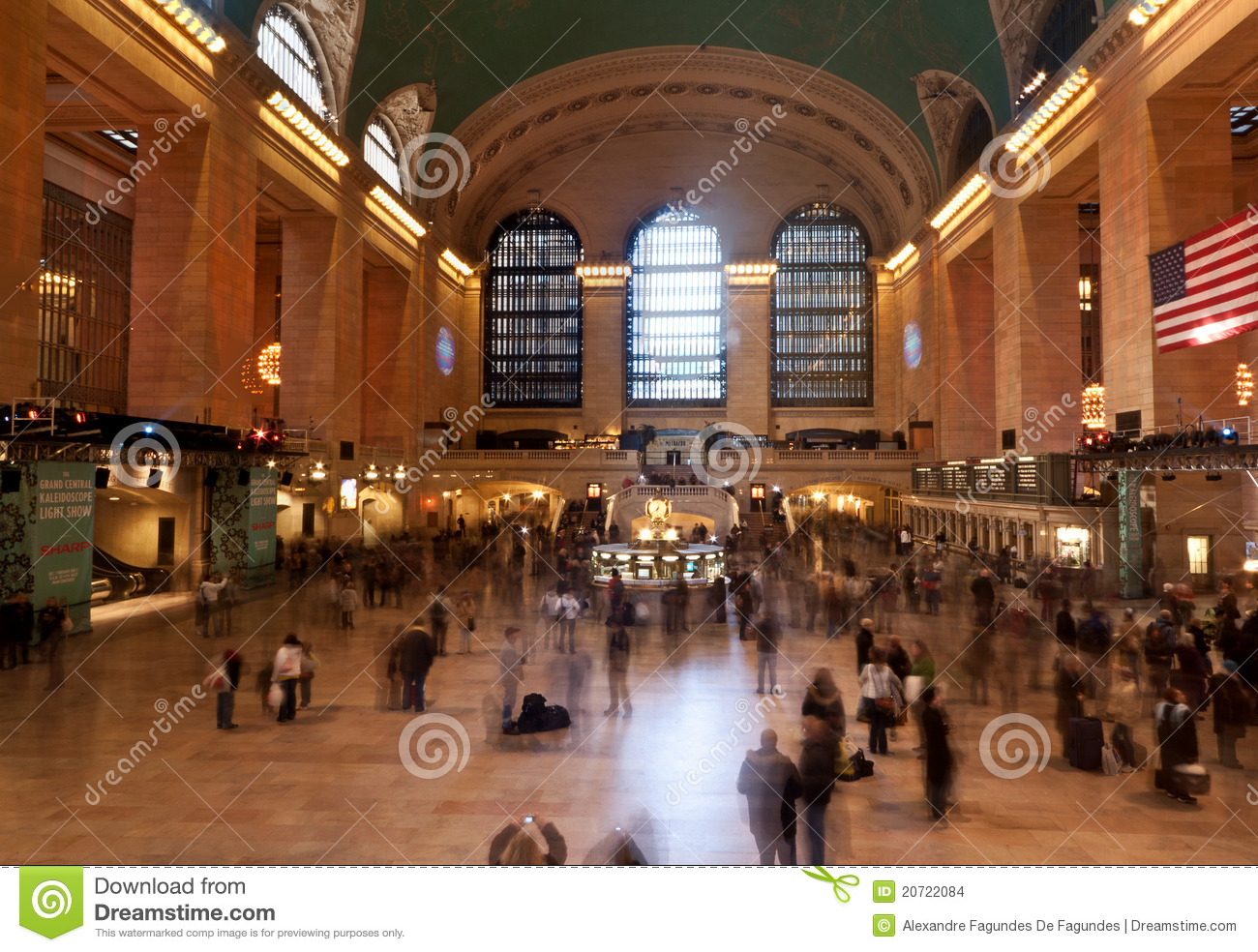 Grand Central Station In New York City Editorial Stock Image - Image ...