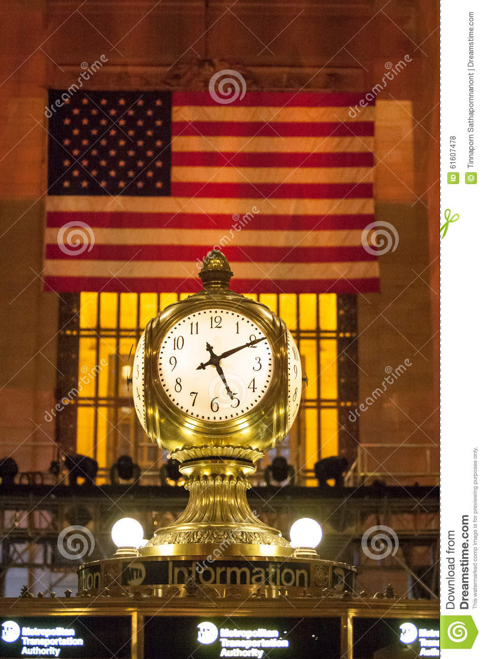 Grand central station editorial stock photo image 61607478 for Grand tableau new york