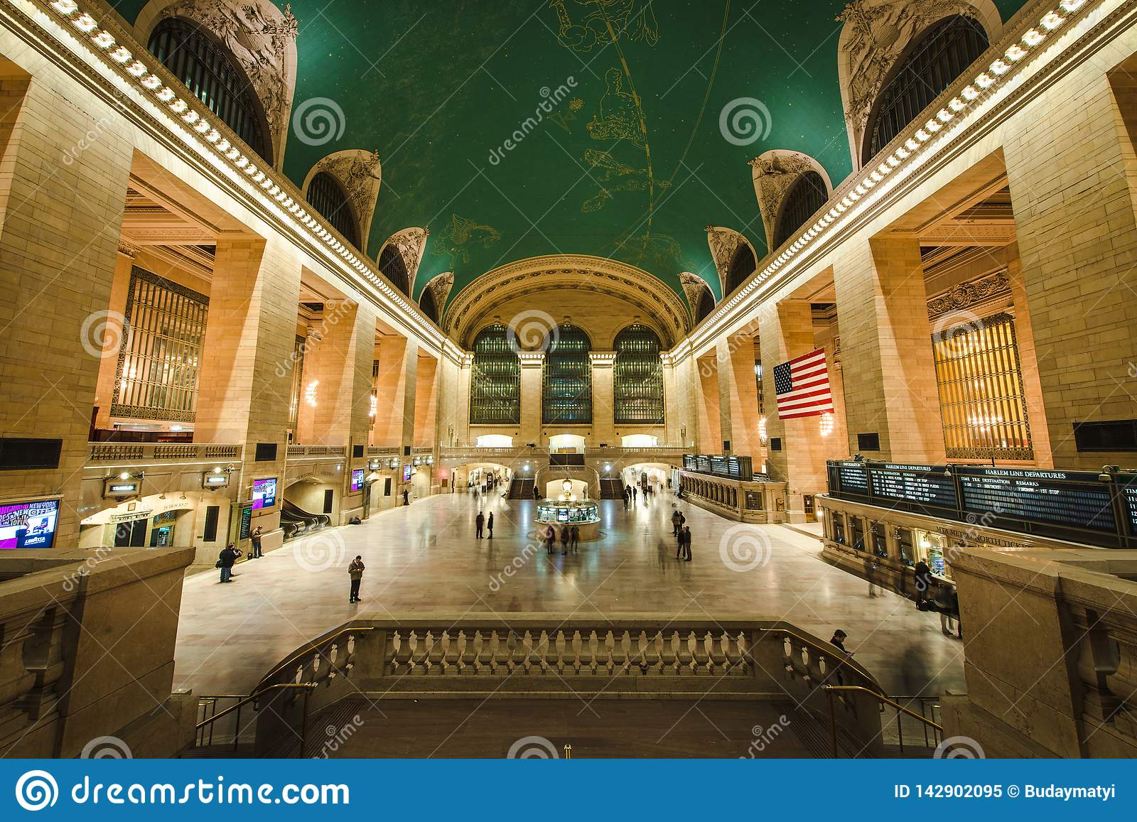 Grand Central Station wnętrze, NYC