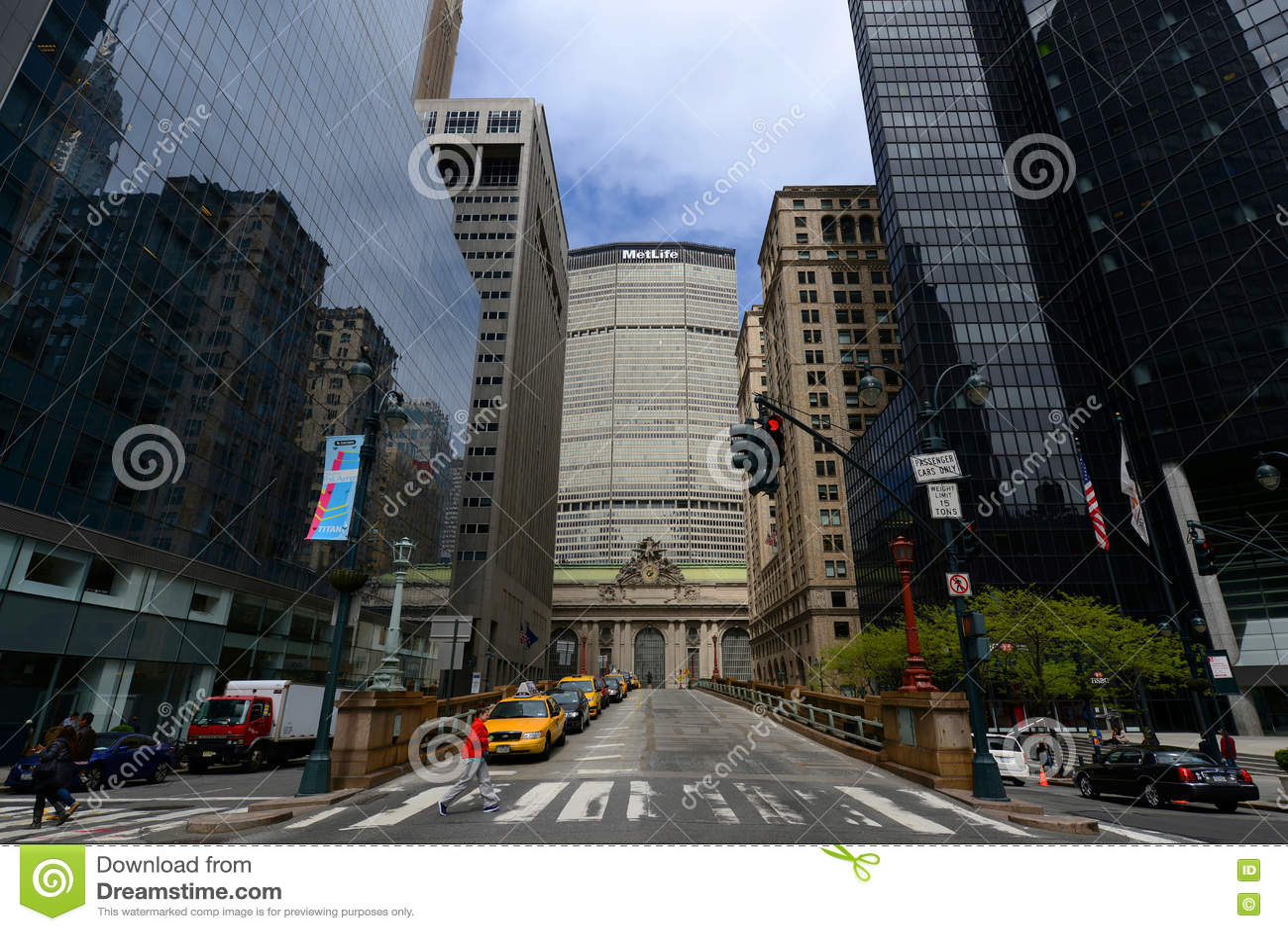 Grand Central Termial et bâtiment de MetLife, nouvelle ville de Yor