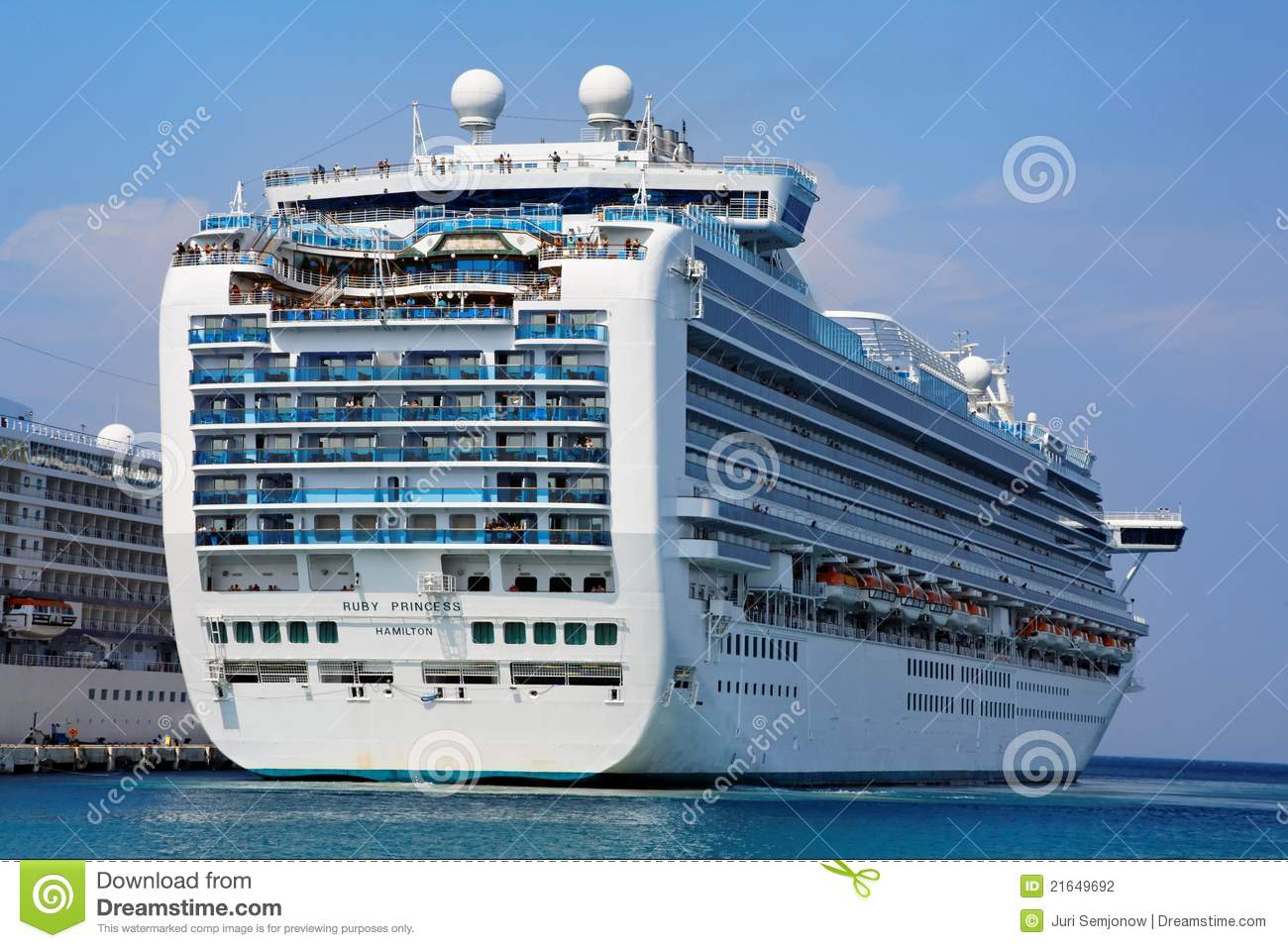 grand class cruise ship editorial photography image 21649692