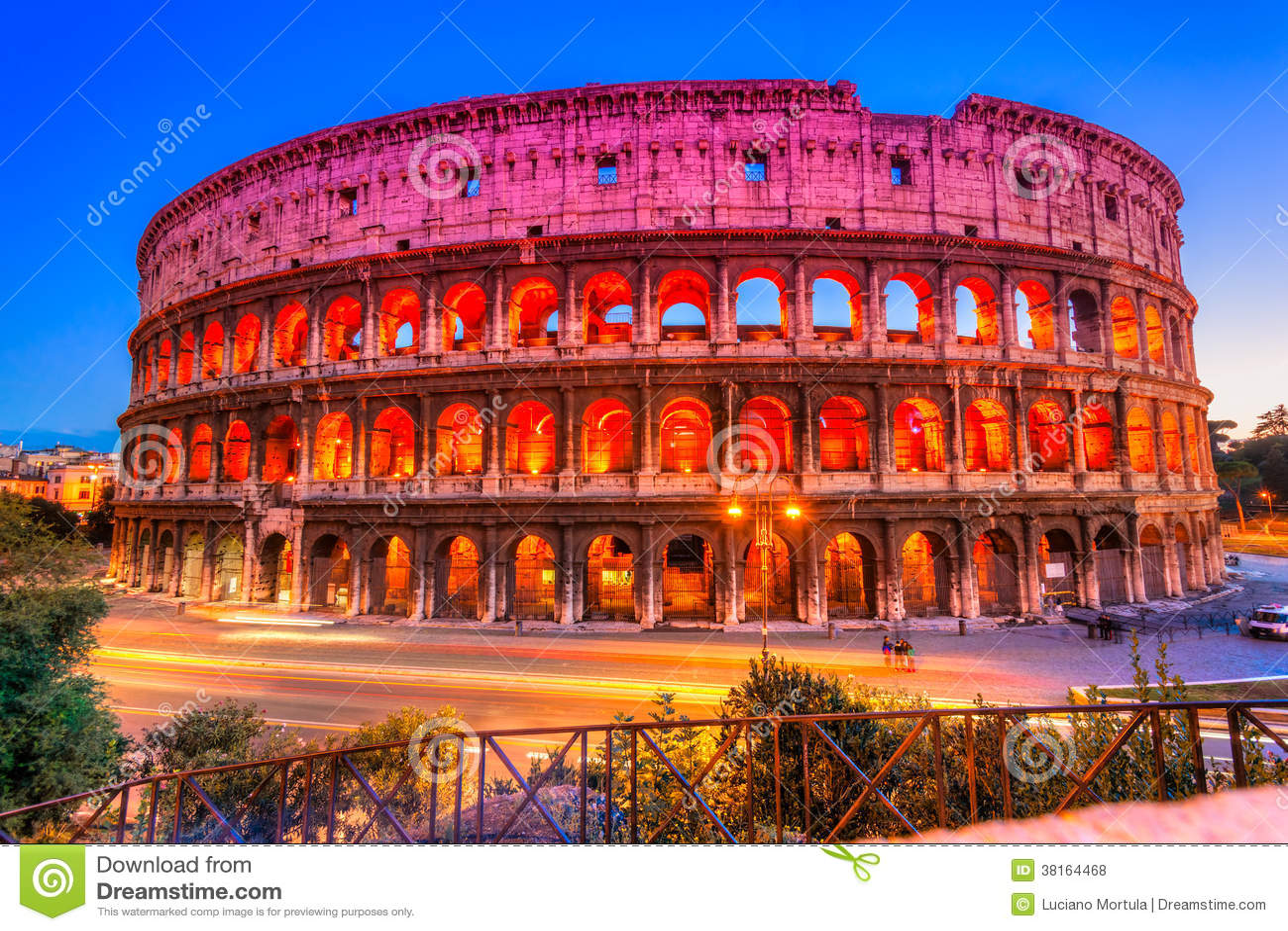 Grand Colosseum, Rome, Italie