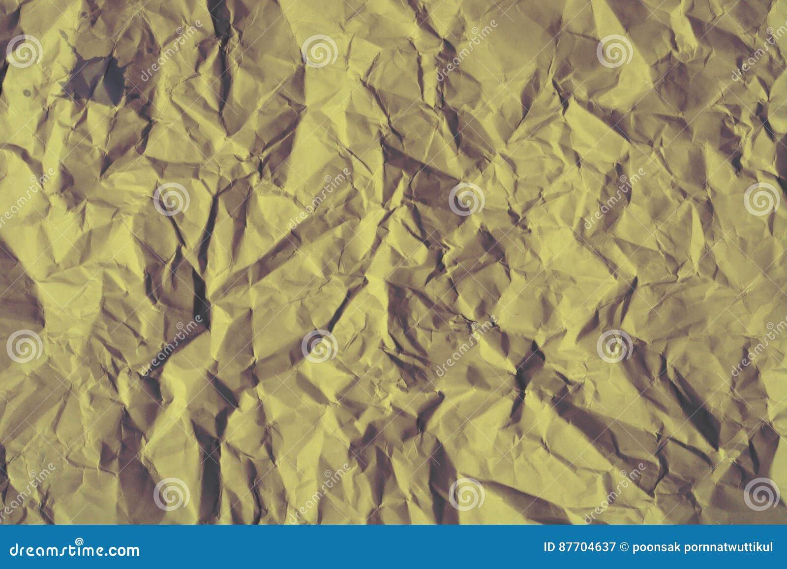 Grand de papier froissé