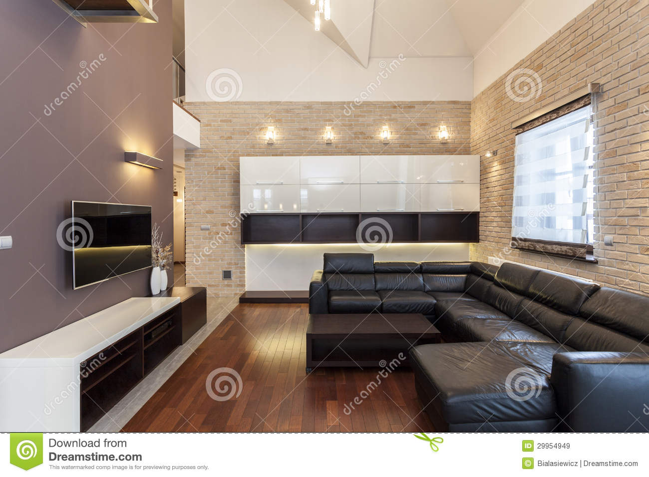 Grand design minimalist room royalty free stock images for Minimalist house grand designs