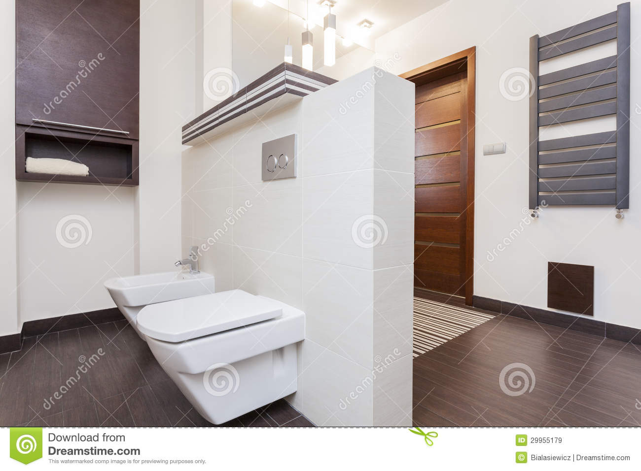 Grand Design Small Bathroom Royalty Free Stock Images Image