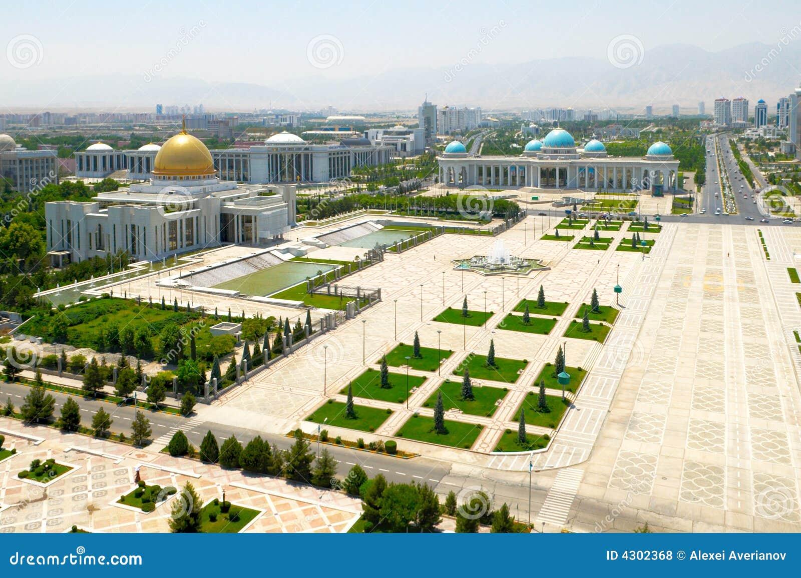 Grand dos central d Ashgabat