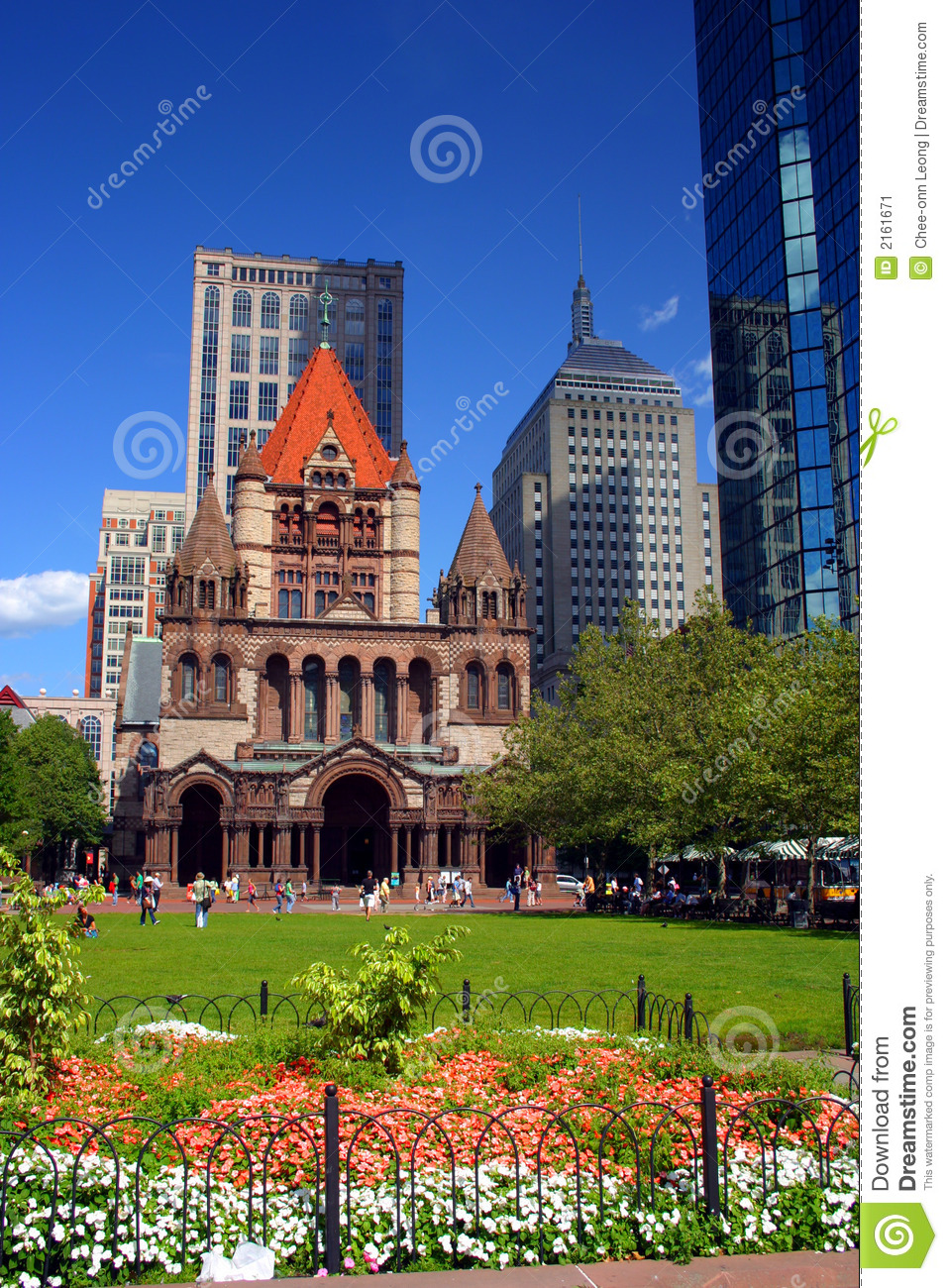 Grand dos de Copley, Boston