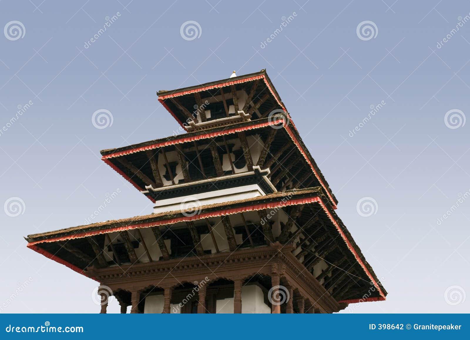 Grand dos de Durbar - Katmandou