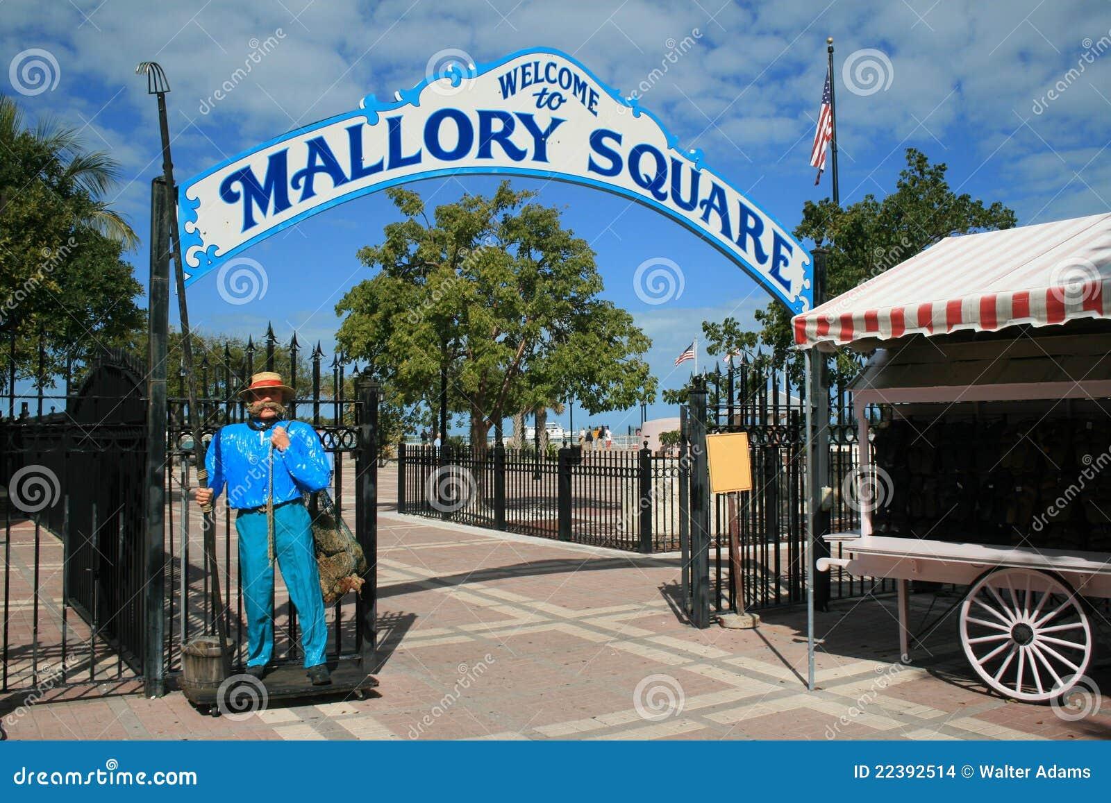 Grand dos de Mallory, Key West, la Floride