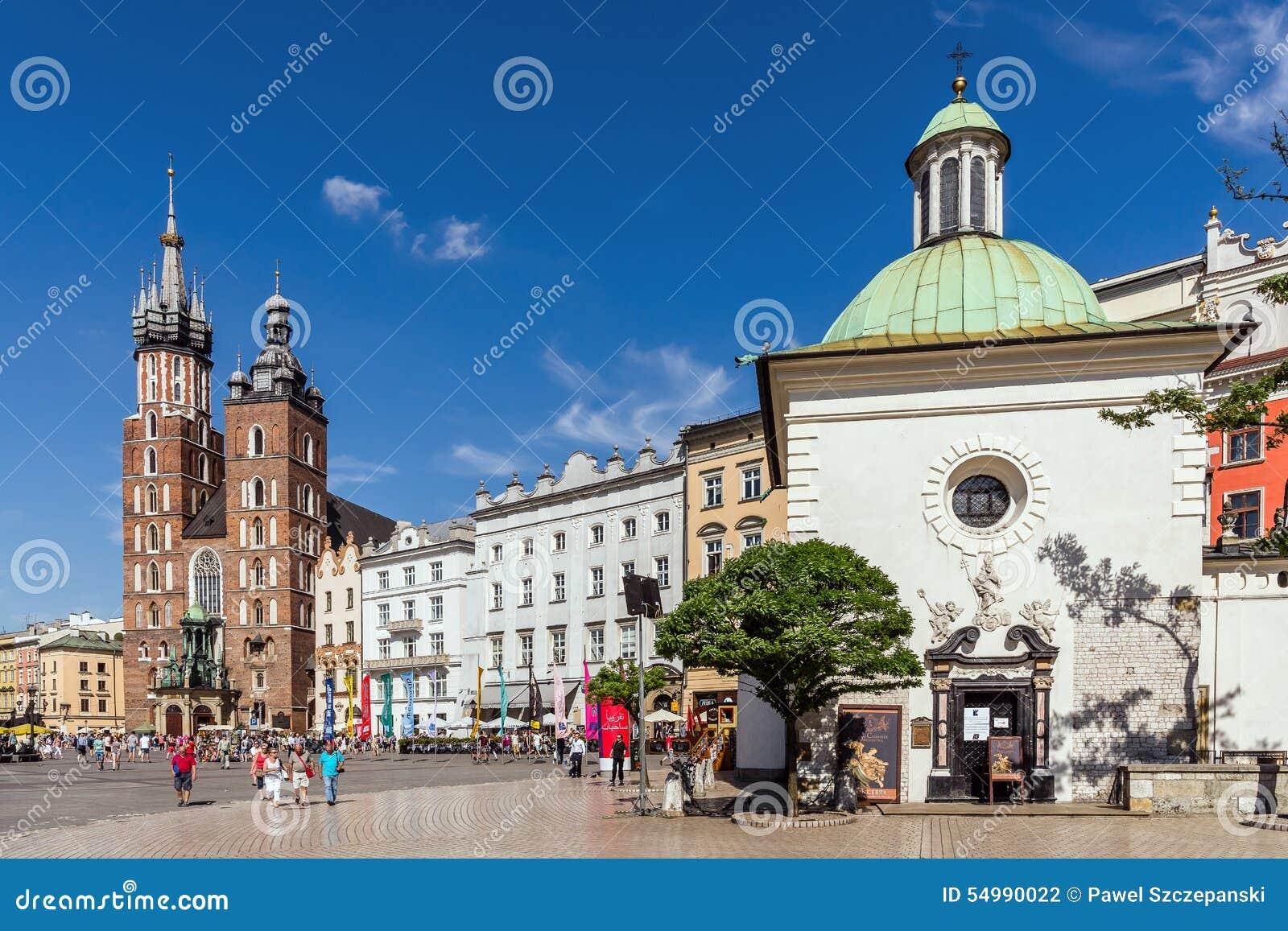 Grand dos principal à Cracovie