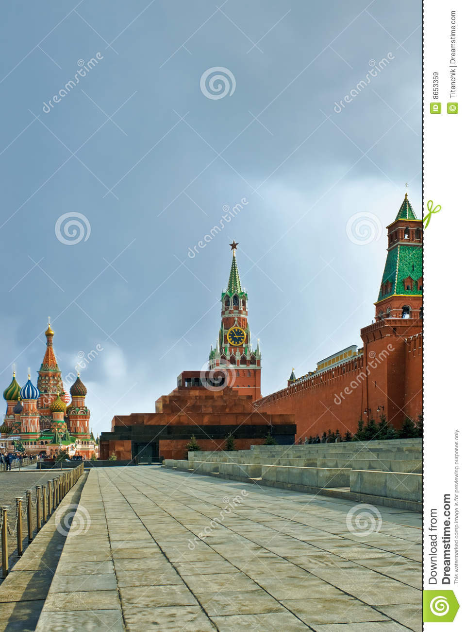 Grand dos rouge de Moscou