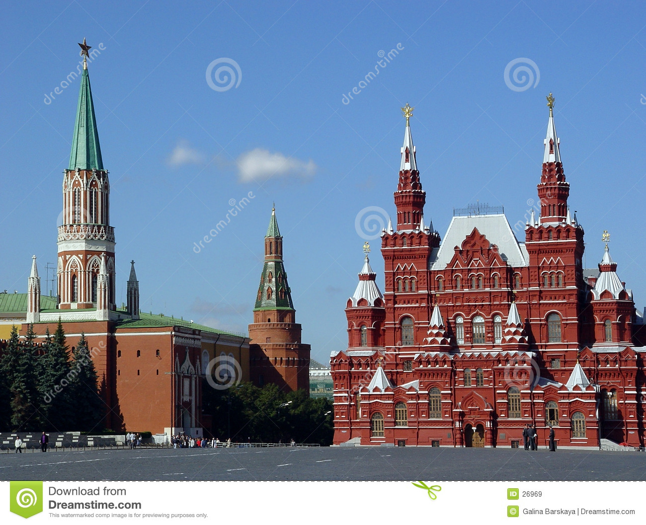 Grand dos rouge, Moscou, Russie