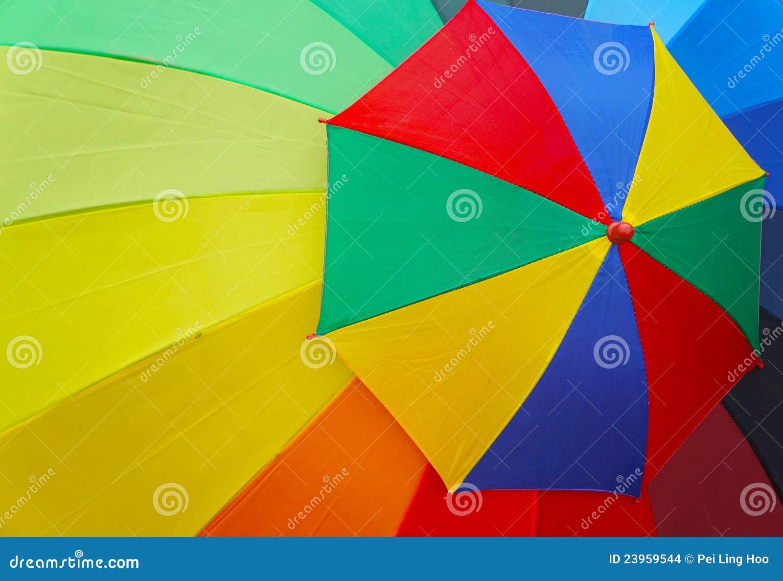 grand et petit parapluie color - Parapluie Color