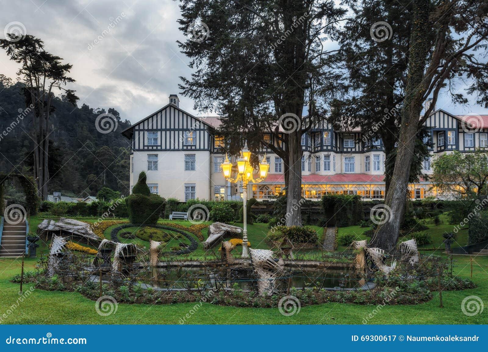 The grand hotel nuwara eliya sri lanka royalty free stock - Grand hotel sri lanka ...