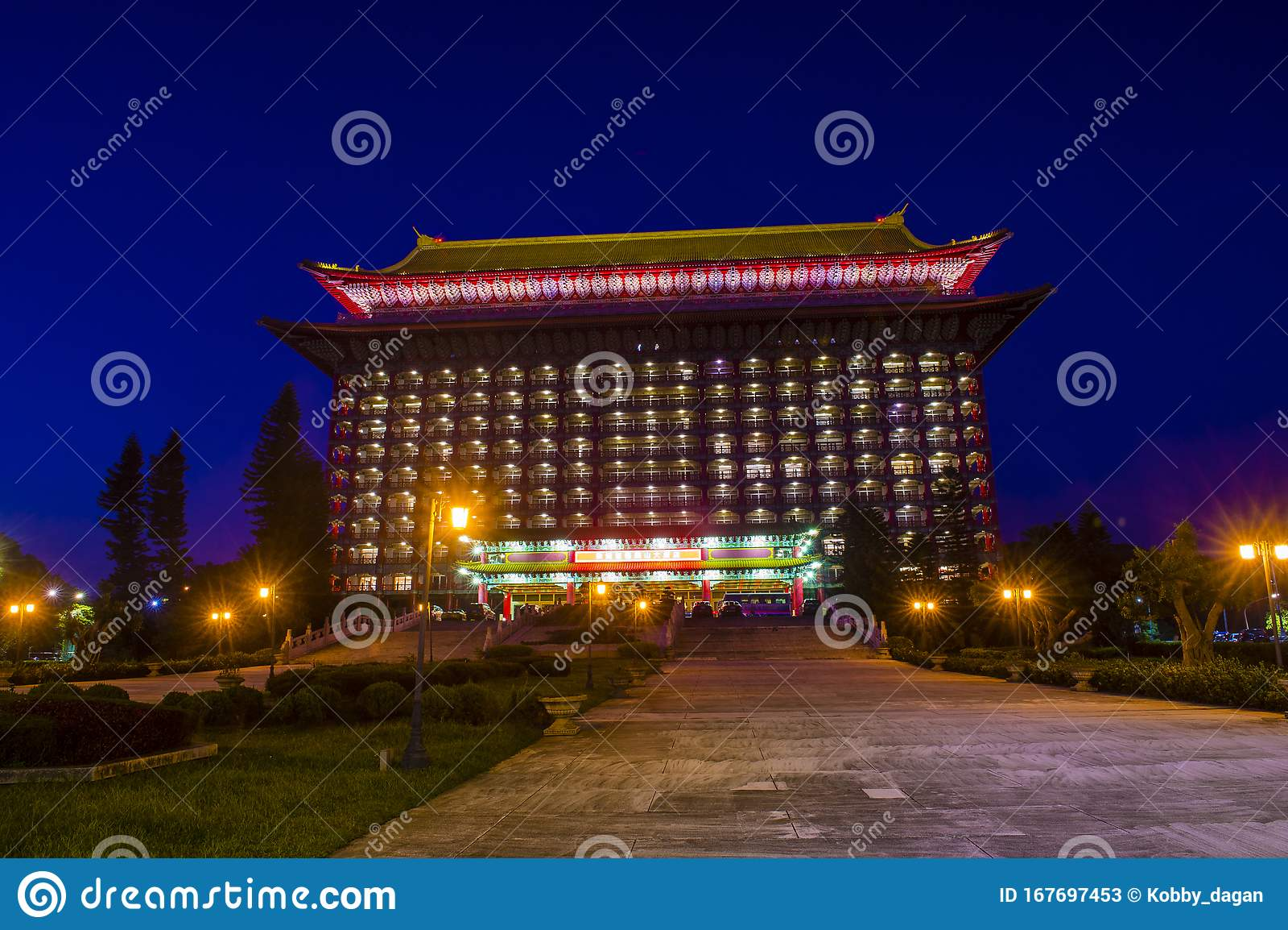 The Grand Hotel Taipei Editorial Stock Photo Image Of Design 167697453