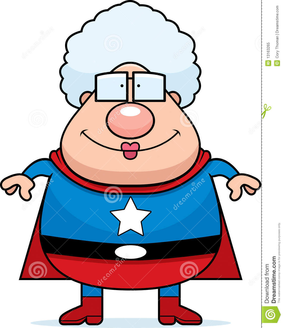Grand maman de superhero illustration de vecteur - Superhero dessin ...