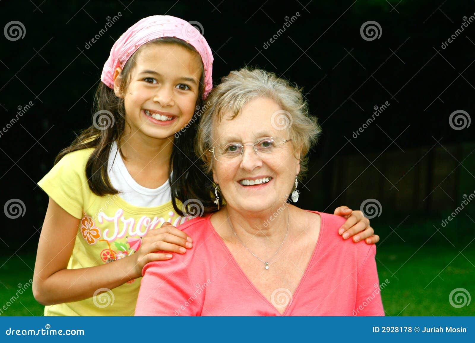 Grand-maman et moi