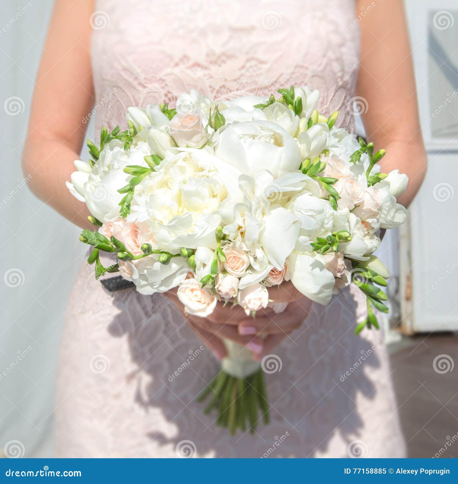 Grand mariage de bouquet