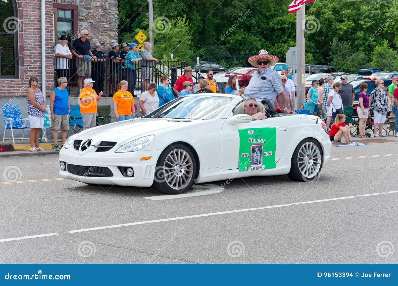 Grand Marshal in Mendota Days Parade