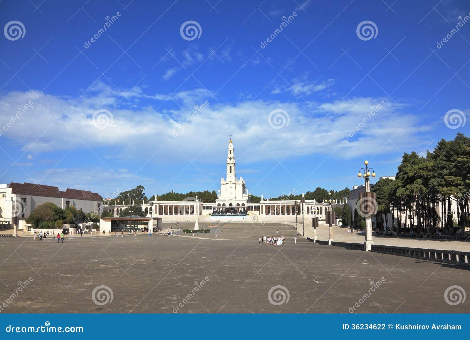 The grand memorial and religious complex in Fatima