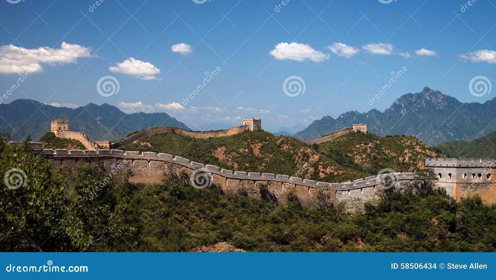 Grand Mur de la Chine - Jinshanling - la Chine