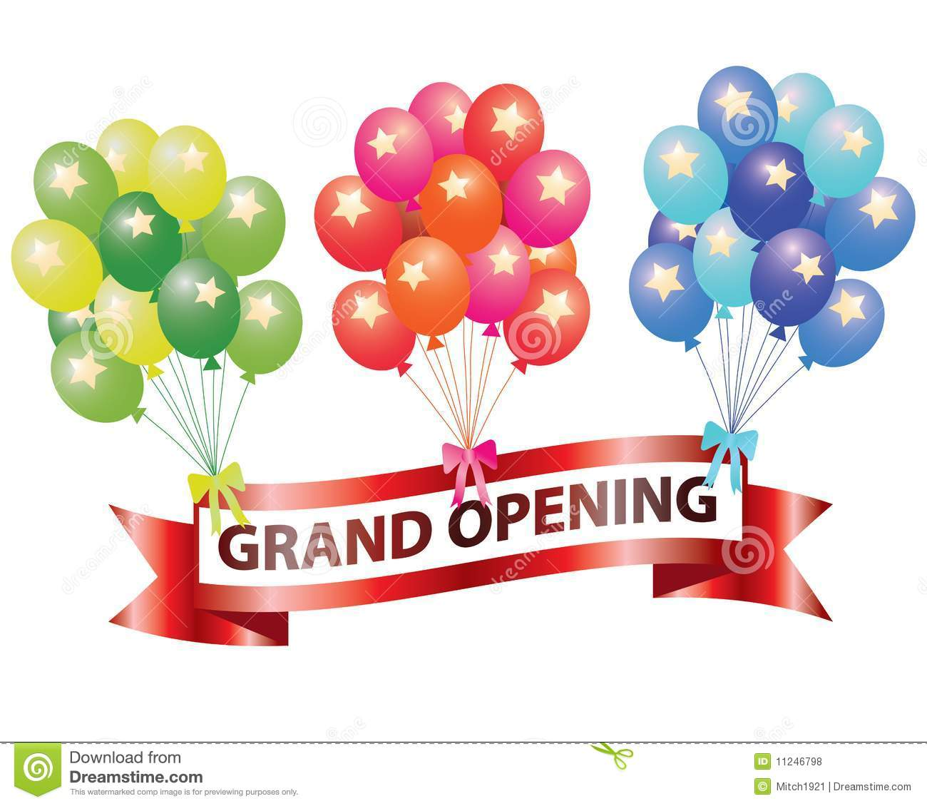 Grand Opening Royalty Free Stock Photos - Image: 11246798