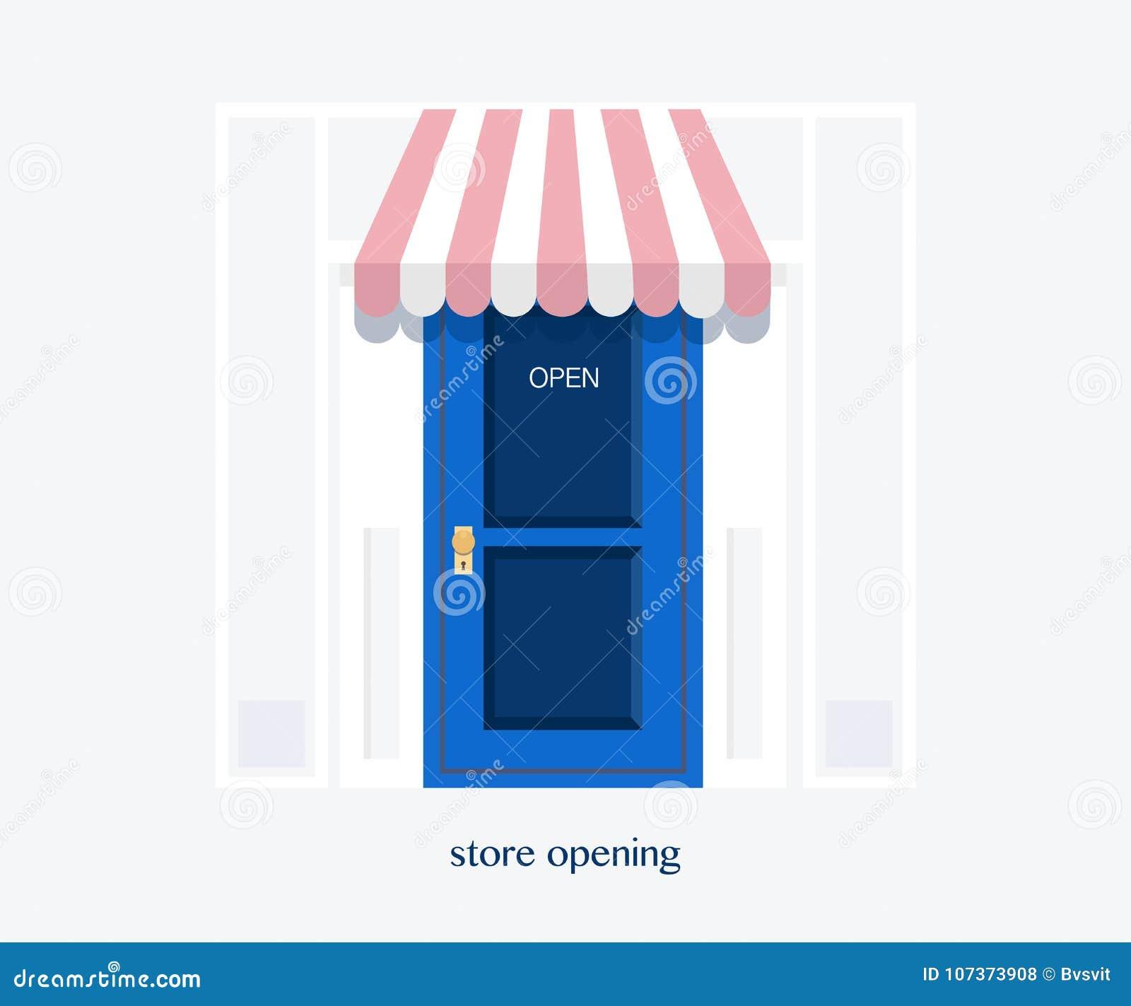 Grand Opening Banner Store Opening Store Doortemplate Banner