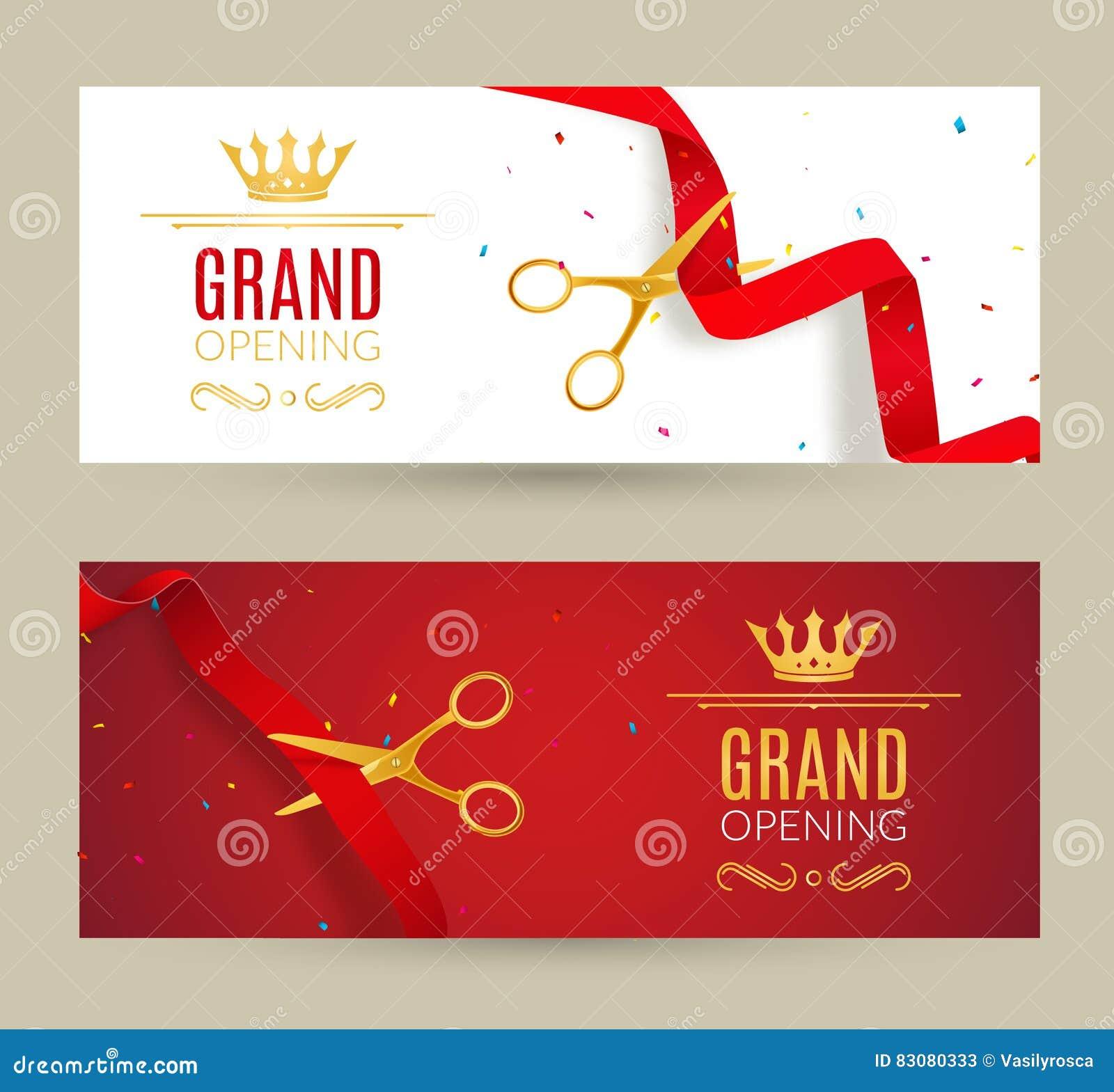 ribbon cutting flyer template vatoz atozdevelopment co