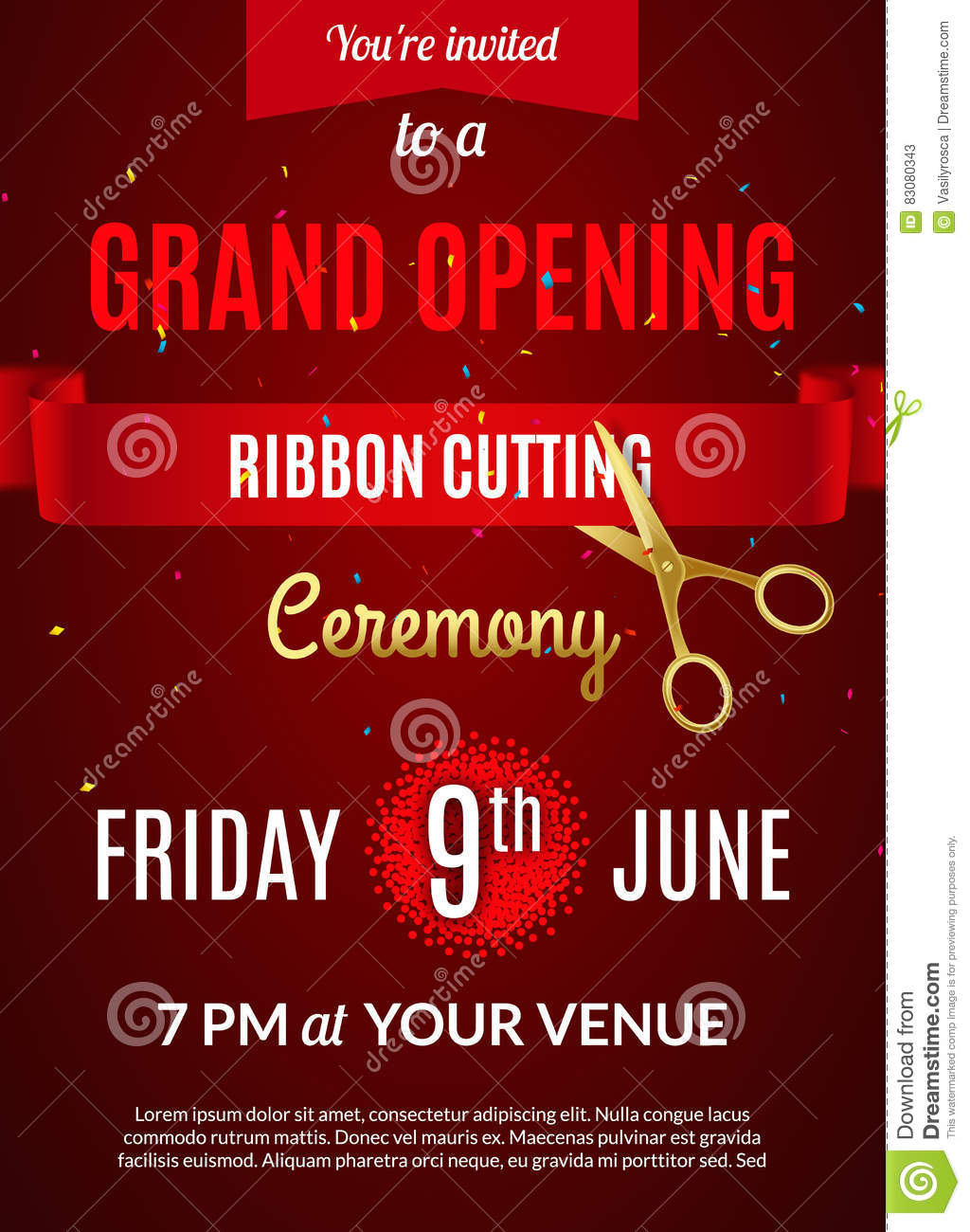 Grand Opening Invitation Card Grand Opening Event Invitation – Grand Opening Invitation Cards