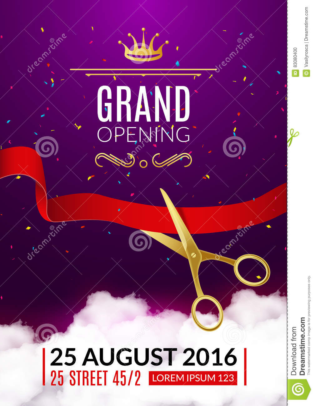 grand opening invitation card grand opening event invitation flyer