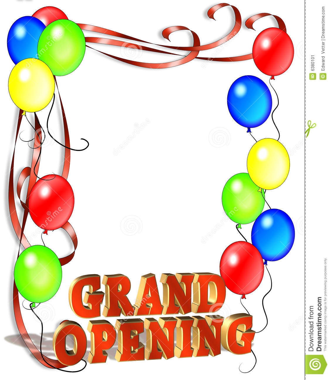 Free Grand Opening Template - Grand opening flyer template free