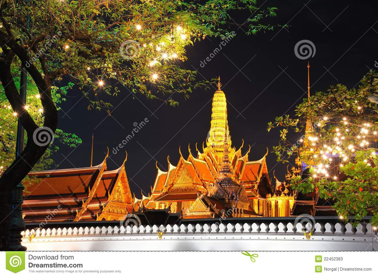 Grand Palace At Night Stock Photos - Image: 22452383