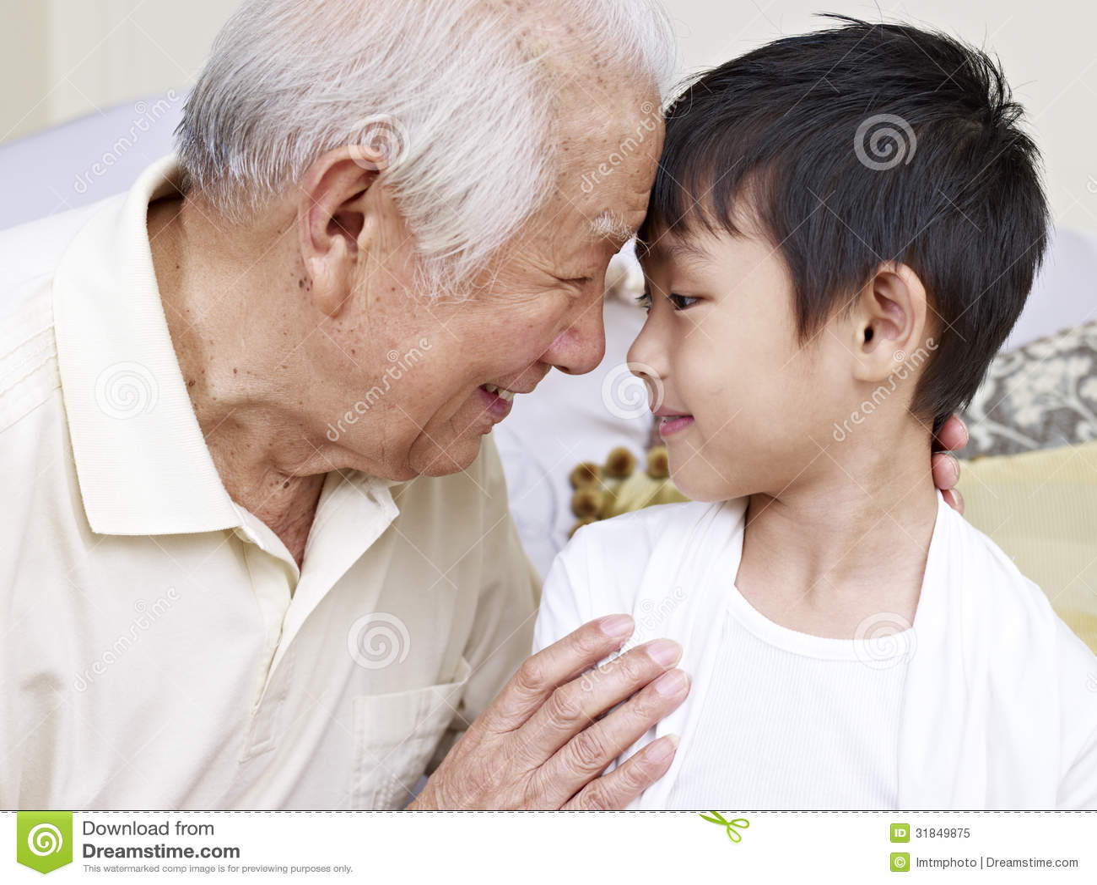 Grand-papa et petit-fils