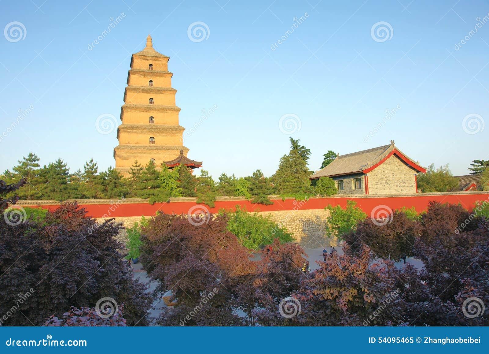 Grand parc sauvage de pagoda d oie