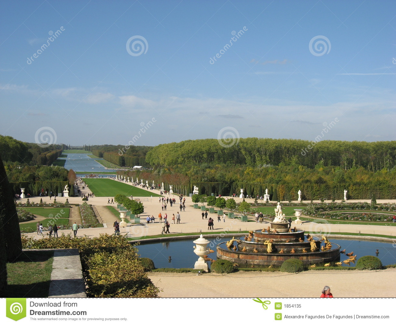 The Grand Perspective Versailles