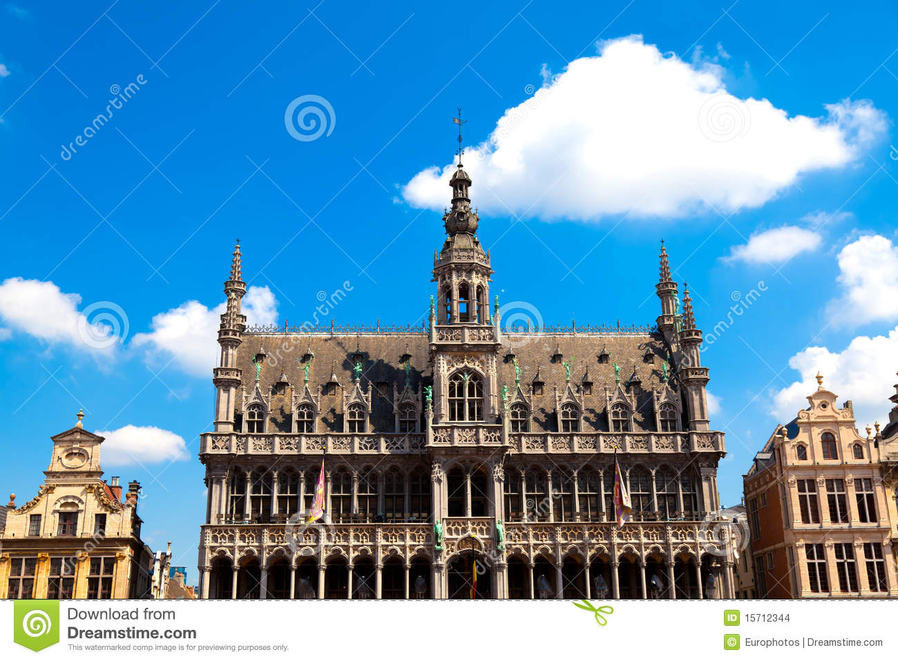 grand place brussels belgium stock images image 15712344. Black Bedroom Furniture Sets. Home Design Ideas