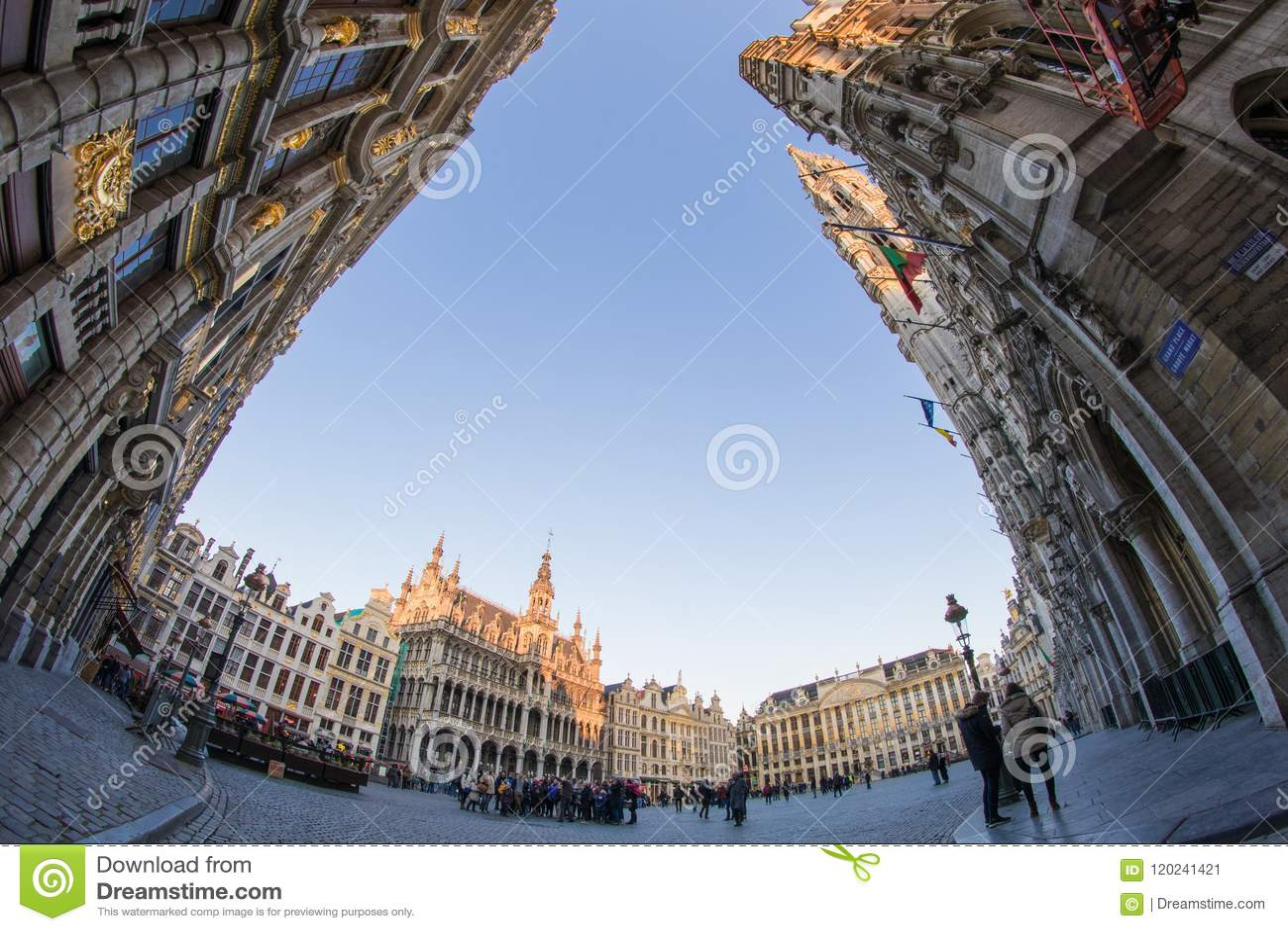 Grand Place, Bruxelles, Belgio