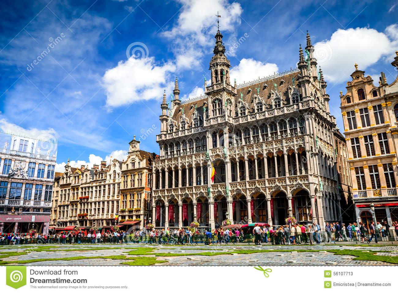 grand place bruxelles belgium stock image image of landmark carpet 56107713. Black Bedroom Furniture Sets. Home Design Ideas