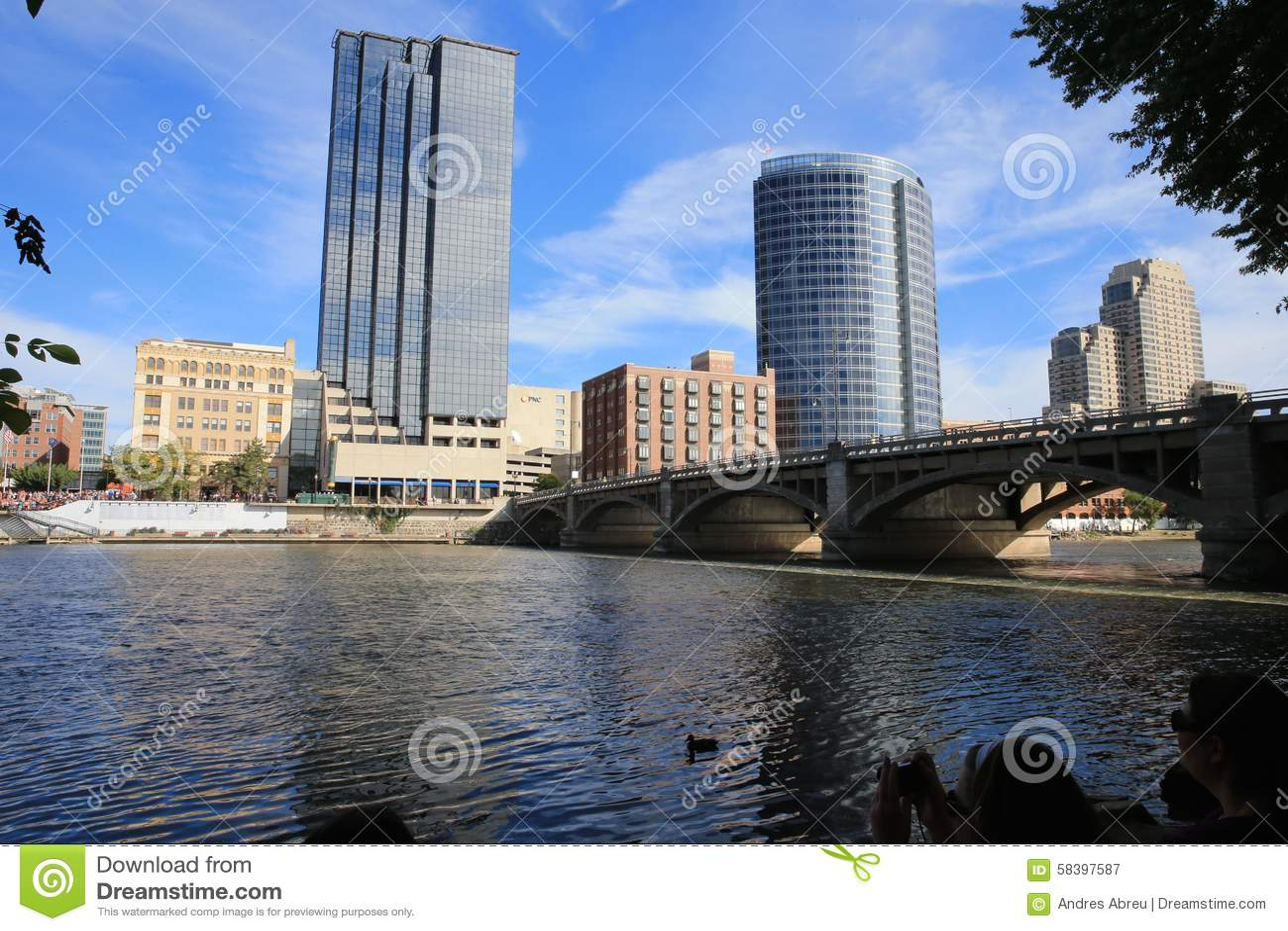 Grand Rapids, Michigan de stad in