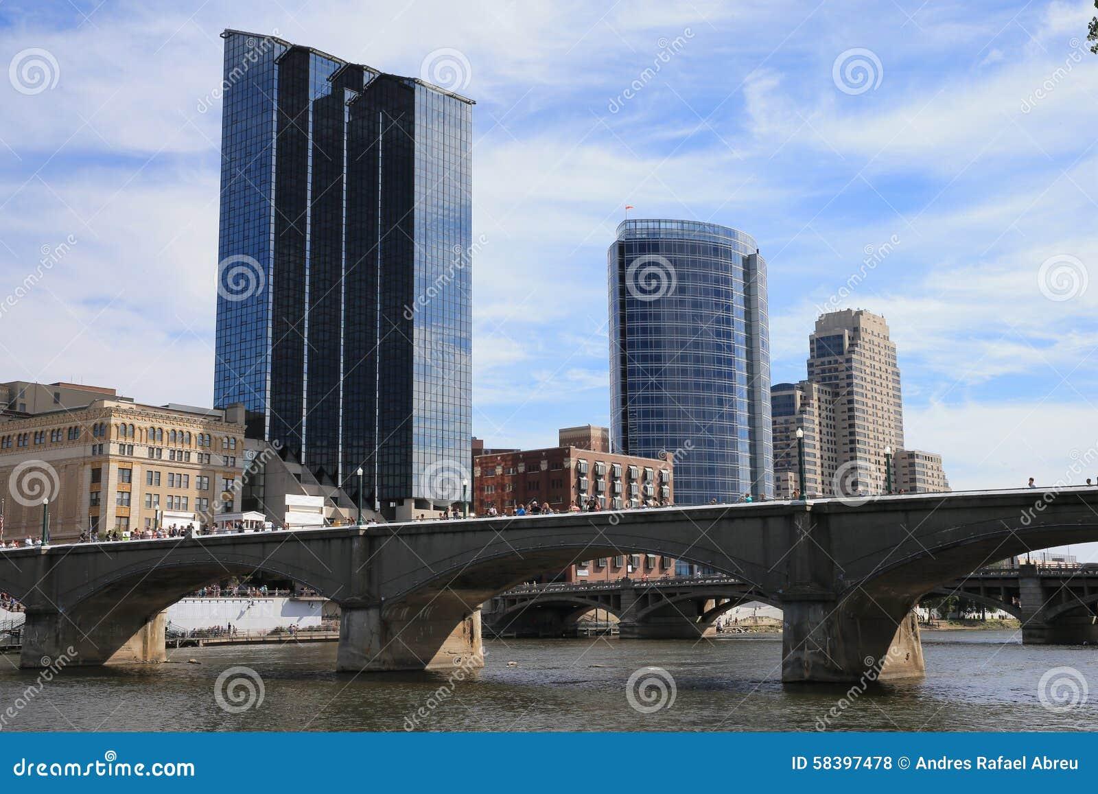Grand Rapids, Michigan du centre