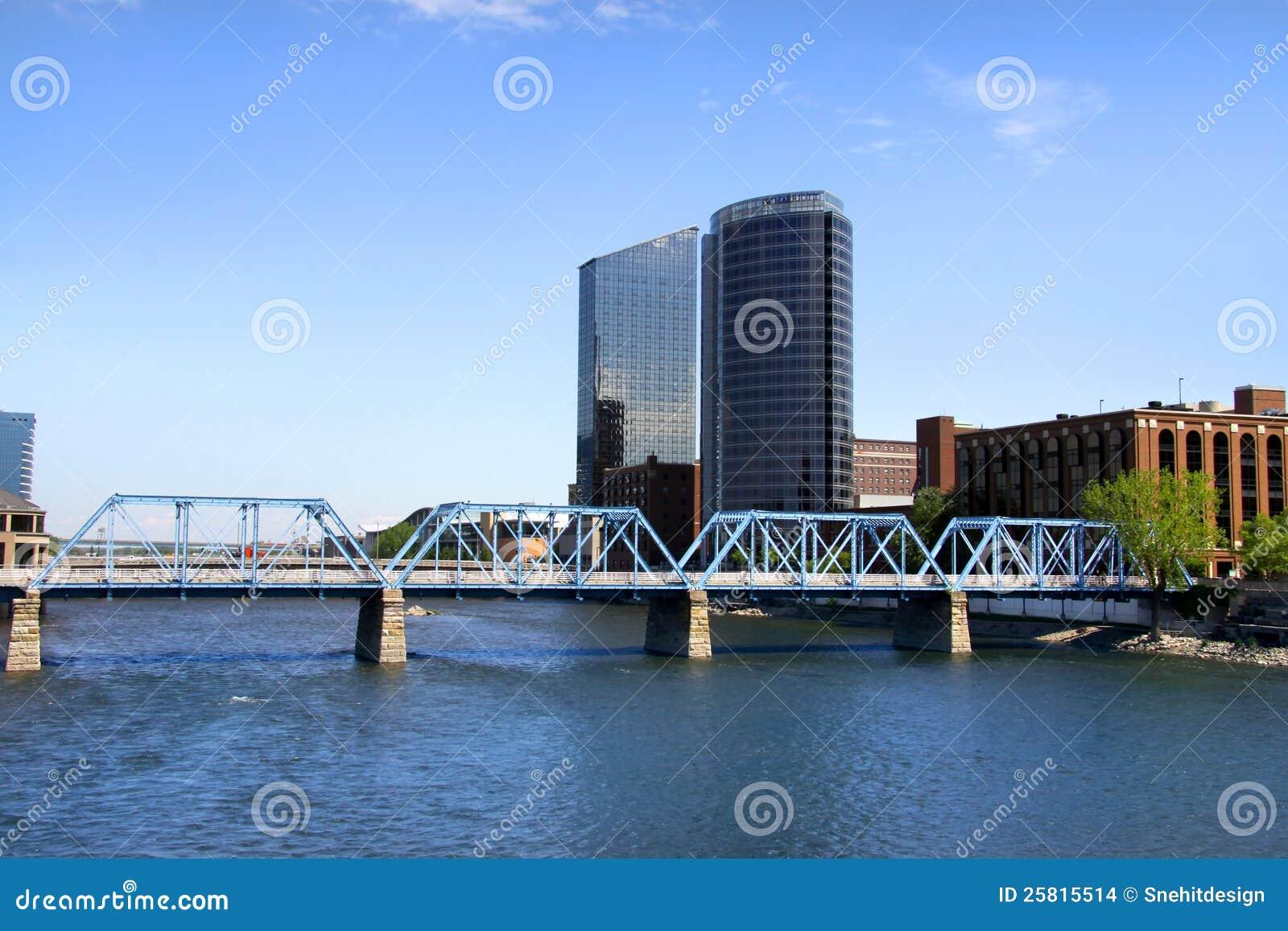 Grand Rapids van de binnenstad