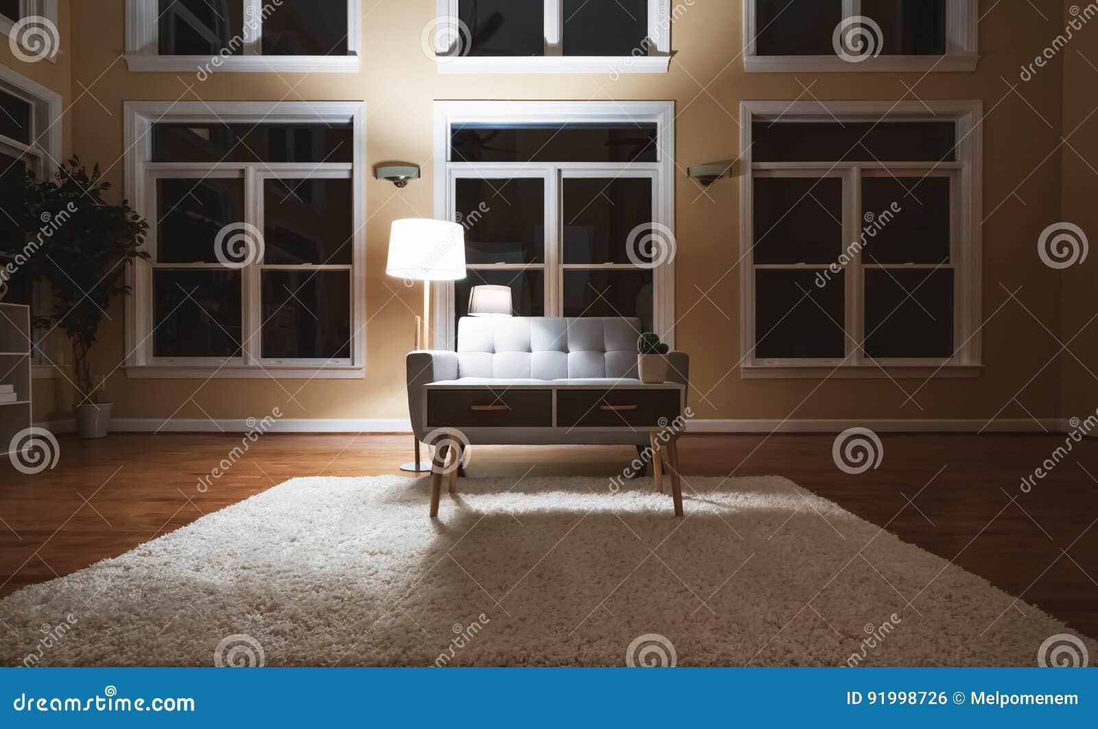 Grand Salon Interieur De Luxe Photo Stock Image Du Gris Confort