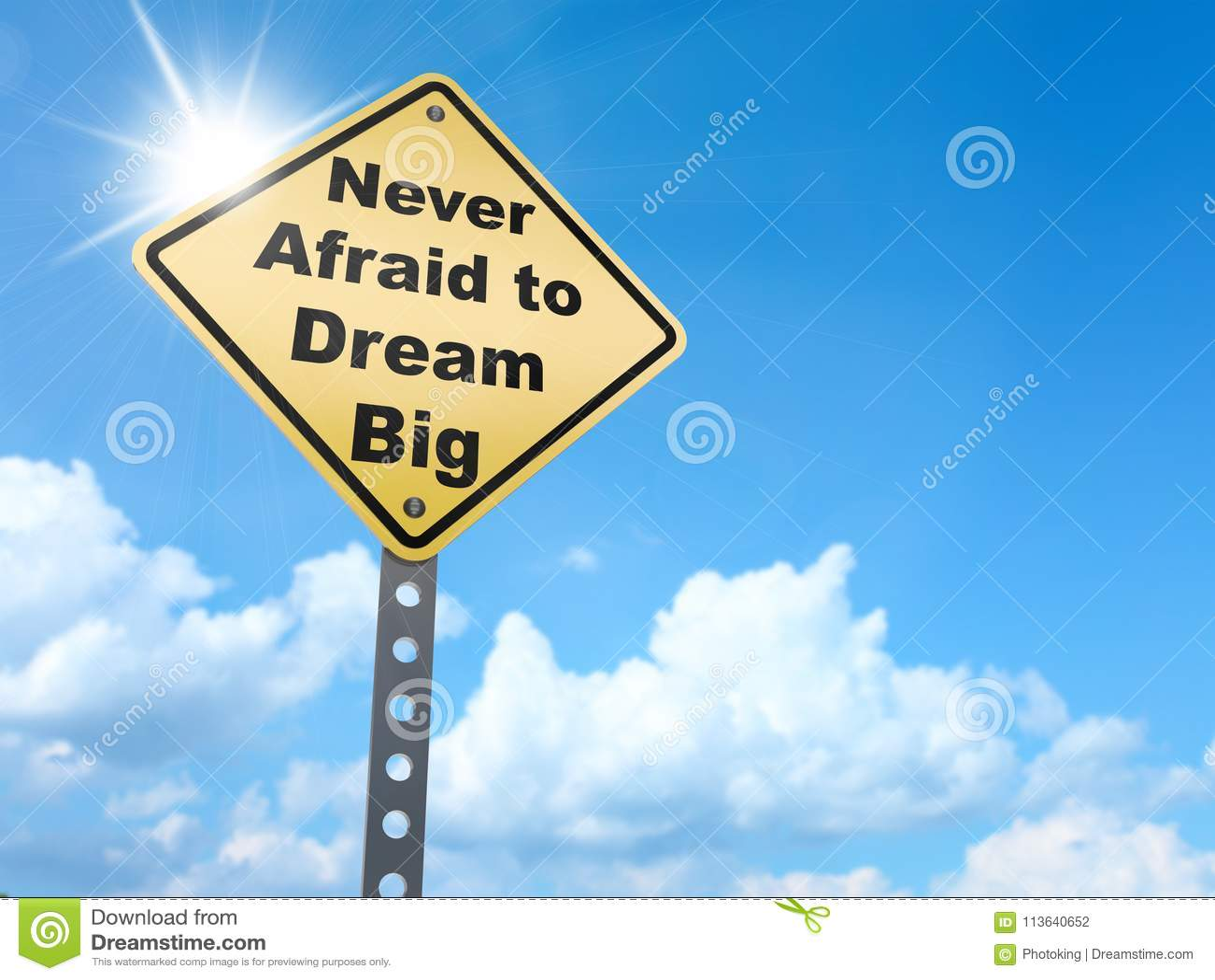 Grand signe rêveur